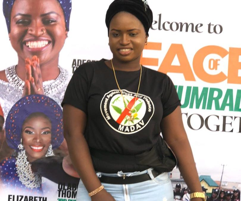 The Face of Podium Set to Lead the Walk Against Drug Abuse and Violence