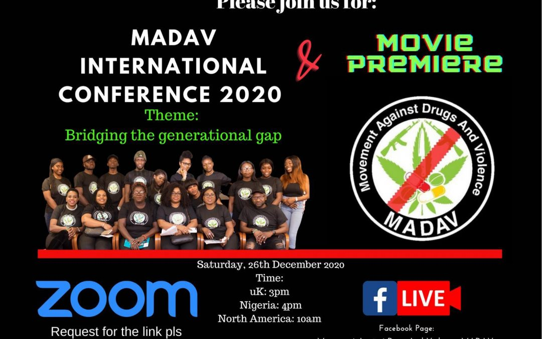 MADAV INTERNATIONAL CONFERENCE  2020 Invitation