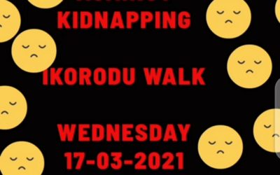 MADAV WALK AGAINST KIDNAPPING – Press Release