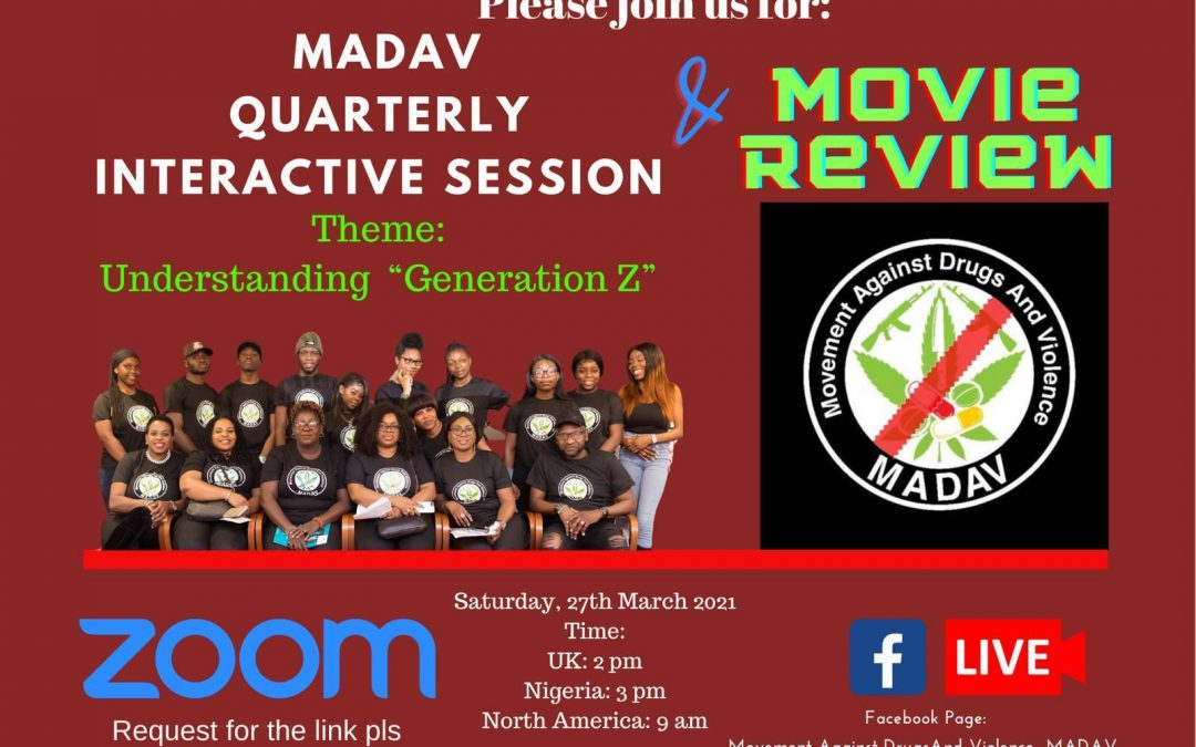 MADAV QUARTERLY INTERACTIVE SESSION
